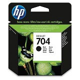 HP Black Ink Cartridge 704 [CN692AA] - Tinta Printer HP